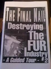 Final Nail: Destroying the Fur Industry ? A Guided Tour #2