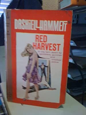 Red Harvest by Hammett, Dashiell: Hammett, Dashiell