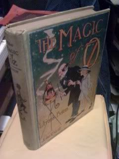 THE MAGIC OF OZ By L. FRANK BAUM 1919 COLOR FRONTISPIECE by L. FRANK BAUM