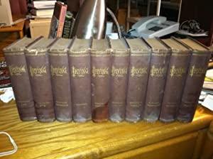 THE WORKS OF WASHINGTON IRVING - Stuyvesant Edition in Ten Volumes