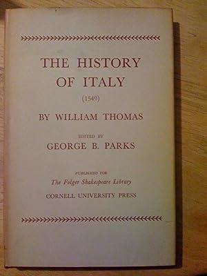 The history of Italy (1549) (Folger documents: Thomas, William