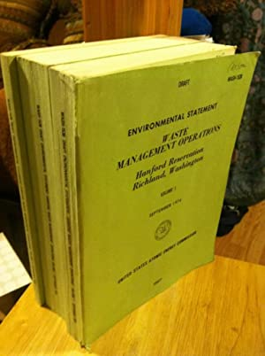 Environmental Statement Waste Management Operations 3 Volumes: n/a