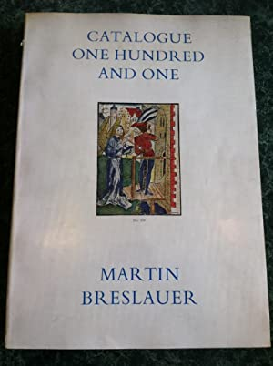 CATALOGUE ONE HUNDRED AND ONE (101) BOOKS, MANUSCRIPTS, AUTOGRAPH LETTERS, BINDINGS FROM THE NINTH ...