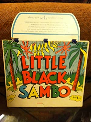 Little Black Sambo & Three (3 ) Pigs Playettte Book NO. #250 Calendar Like Book with Flip Pages...