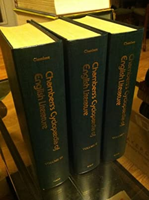 Chambers's cyclopaedia of English literature: Chambers, Robert