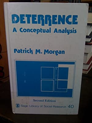 Deterrence: A Conceptual Analysis (SAGE Library of Social Research)