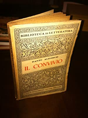 Il Convivio: Alighieri, Dante