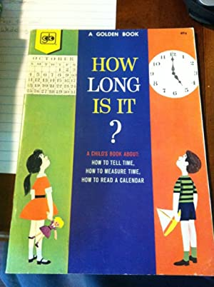 how long is it? a learn-about-time activity book: welsh, margaret wells