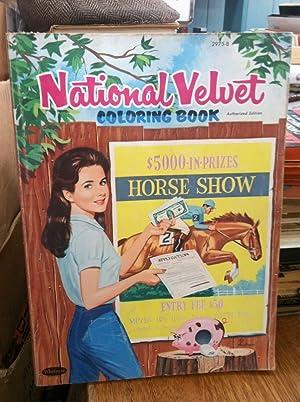 National Velvet Coloring Book: Szeljkowski, adam; Andersen, Al