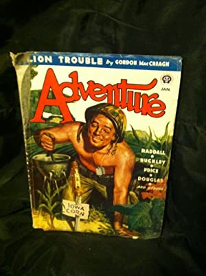 Adventure Vol. 112, No. 3, January, 1945