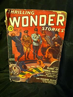 THRILLING WONDER STORIES OCTOBER 1939