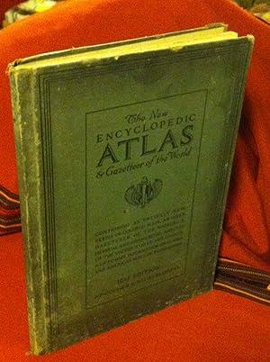 The New Encyclopedic Atlas & Gazetteer of the World; 1917 Edition