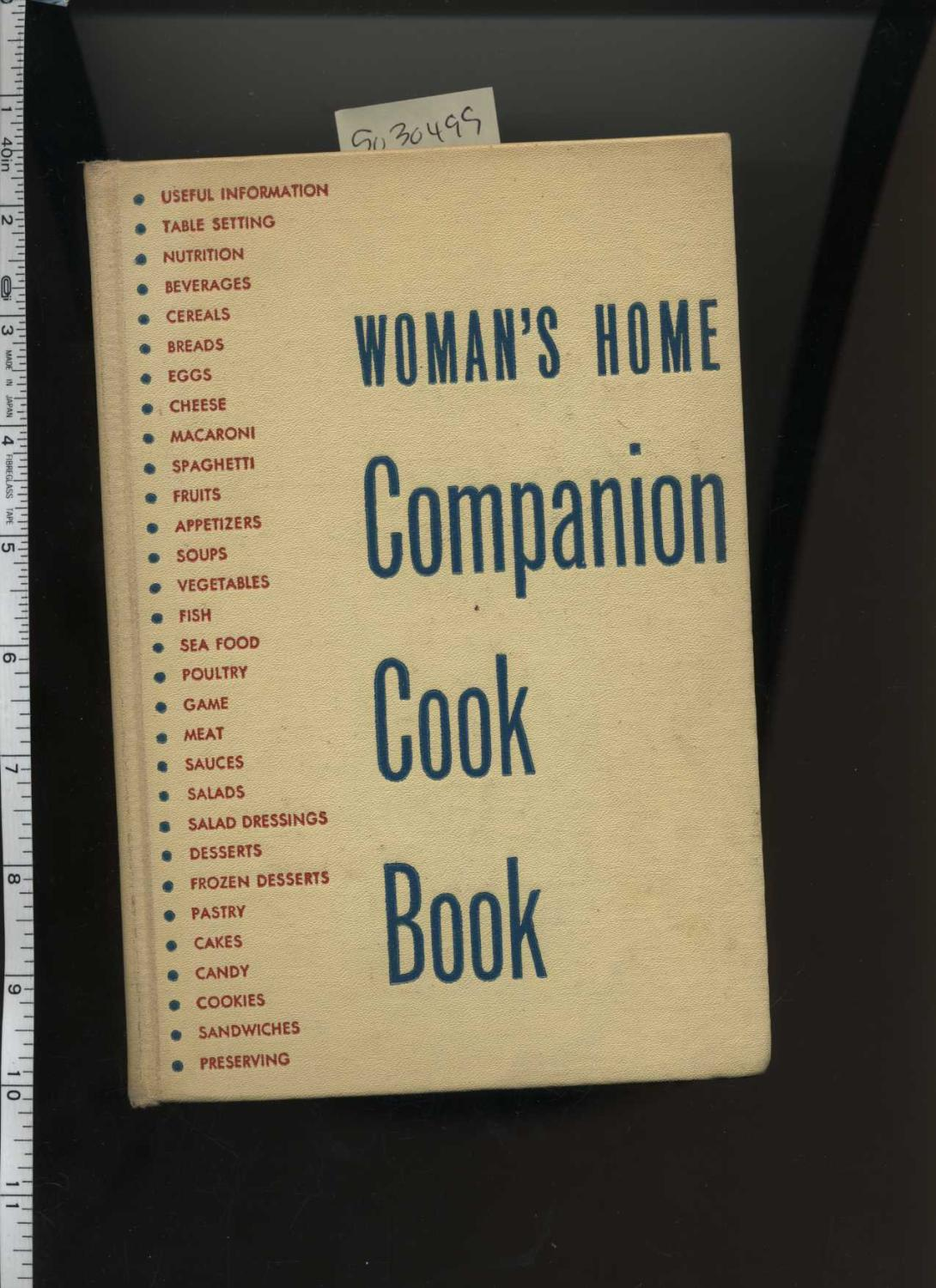 Woman's Home Companion Cook Book : 1942 Edition [A Cookbook / Recipe Collection / ...