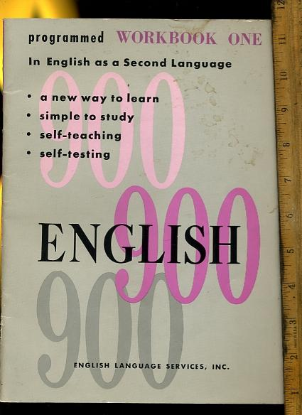 New English 900 Book