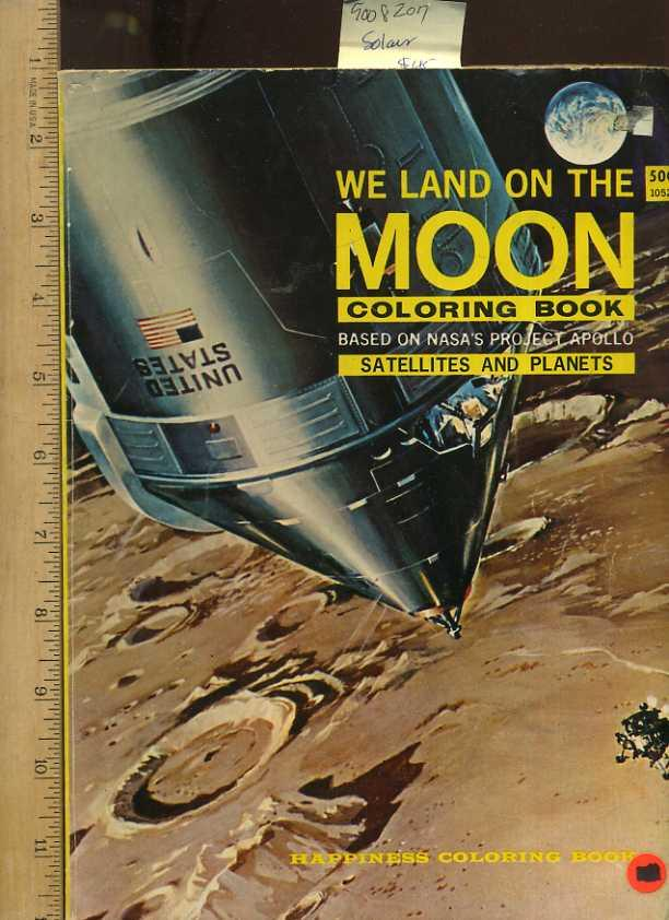 We Land on the Moon Coloring Book Based on NASA\'s Project Apollo ...