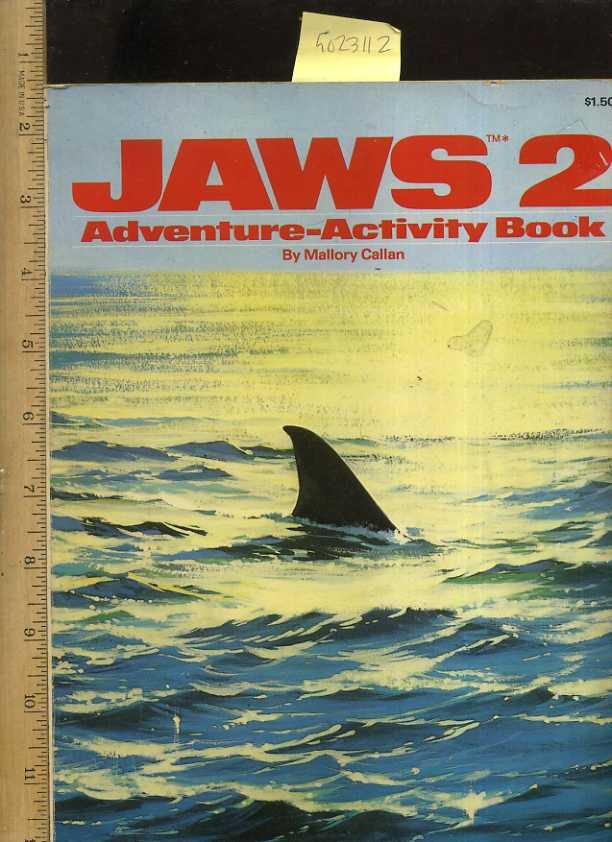 Jaws 2 Adventure Activity Book Pictorial Childrens Reader Learning To Read Skill Building