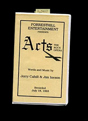 Forresthill Entertainment Presents : Arts : The Rock Opera : Words and Music By Jerry Cahill and ...