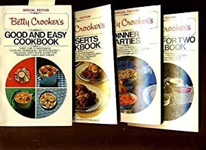 Betty Crockers: Good and Easy Cookbook : 1975 / Desserts Cookbook : 1975 / Dinner Parties : 1975 / ...
