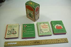 Christmas Nutshell Library : Angels and Berries and Candy Canes ; a Firefly in the Fir Tree ; the ...