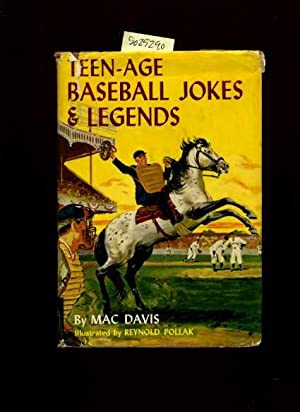 The Tean Ager Library : Teen Age / Teenage Baseball Jokes and Legends : The Lore and Legends ...