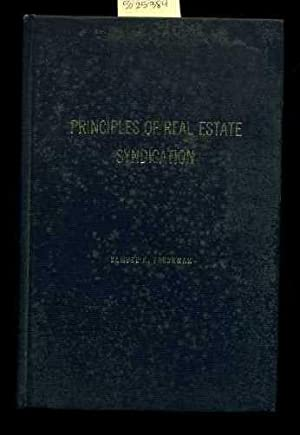 Principles of real Estate Syndication [Critical / Practical Study ; Review Reference ; ...