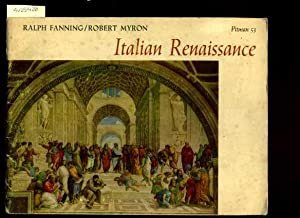 Italian Renaissance : Pitman No. 53 [Pictorial Art History Biography, Style, Causes, Florentine ...