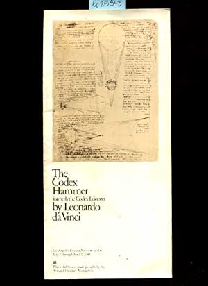 The Codex Hammer : Formerly the Codex Leicester By Leonardo Da Vinci: Leonardo Da Vinci / Davinci ;...