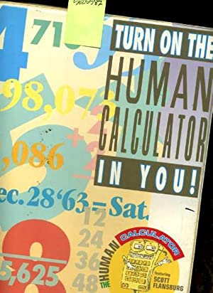 Turn on the Human Calculator in You [audio Cassette Seminar on 4 Tapes with Guidebook, Self Help, ...