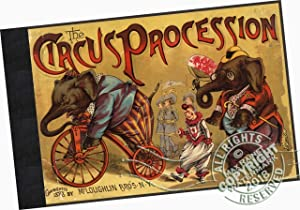 The Circus Procession [pictorial Children's Reading Book, Lovely Color Illust., All Sorts of ...