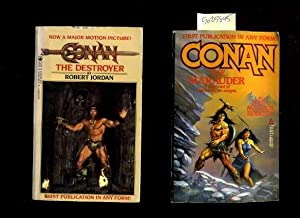 Conan the Destroyer By Robert Jordan ISBN 081254328x / Conan the Marauder : a Whirlwind of Death ...