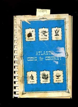 The Junior Associates of the Atlanta Music Club Present : Atlanta Cooks for Company : 1971 Edition ...