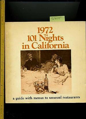 1972 : 101 Nights in California : Jacqueline Killeen /