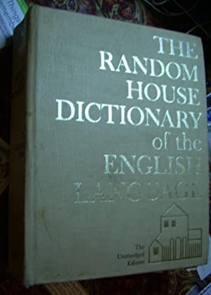 The Random House Dictionary of the English Language: The Unabridged Edition [oversized, Thumb ...