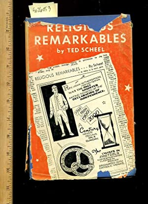 Religious Remarkables [historic Trivia, Fully illustrated in Comic Strip Style Facts and Trivial ...