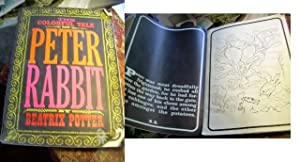 The Colorful Tale of peter Rabbit By Beatrix Potter [giant Coloring Book Dated 1968, Rare, Giant ...