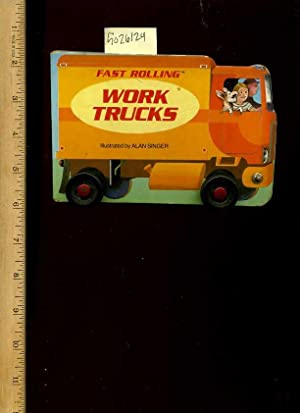 Fast Rolling Work Trucks [Pictorial Children's Reader, Learning to Read, Skill Building, Board...