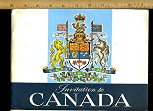 Invitation to Canada : a Mari Usque Ad Mare [1950s Color Pictorial Biography of all the Best Places...