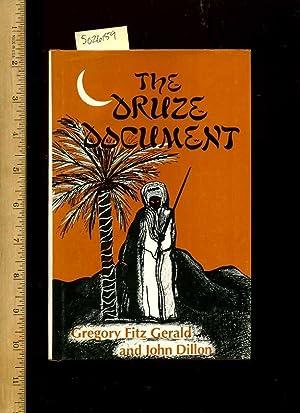 Thr Druze Document [novel, dr. Kamal Darvish Ruthless Elder of a Secret Middle Eastern Religious ...