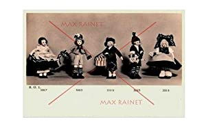 Bambole Lavabili 2 Lenci Catalog : 1933 [Pictorial Sales Sample Catalogue of Dolls, Puppets, Toys ...