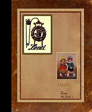 Lenci Catalog : 1926 [Pictorial Sales Sample Catalogue of Dolls, Puppets, Toys for Sale, Felt Doll ...