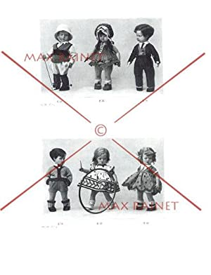 Lenci Catalog : 1931 [Pictorial Sales Sample Catalogue of Dolls, Puppets, Toys for Sale, Felt Doll ...