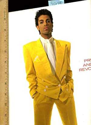 Prince and the Revolution [pictorial Folio, Minimal Text, Photo Bio, Discography, Band Members, ...