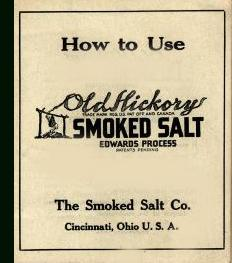 How to Use Old Hickory Smoked Salt Edwards Process: Smoked Salt Co.