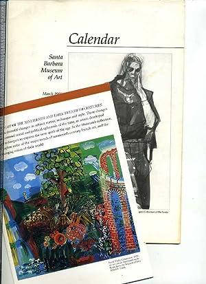 Calendar March 1990 / French Art of: Santa Barbara Musuem