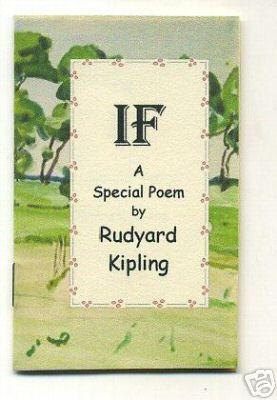 If : A Special Poem By Rudyard: Kipling, Rudyard