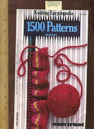 Mon Tricot : Knitting Encyclopedia : 1500: mon Tricot; Evelyne