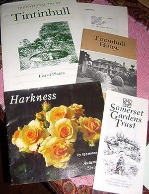 1. Book: Tintinhull House Somerset 1990 / 2. Folder: The National Trust Tintinhul List of ...
