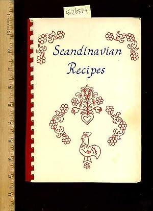 Scandinavian Recipes : Fellowship Circle : Mount Olive Lutheran Church : Santa Monica California : ...