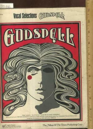 Vocal Selections Godspell : The Music of: Stephen Schwartz /