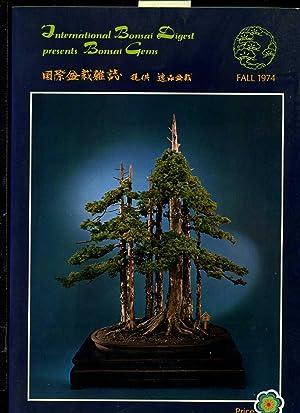International Bonsai Digest Presents Bonsai Gems : 1974 / Cover Tree: Junperus Chinensis ...